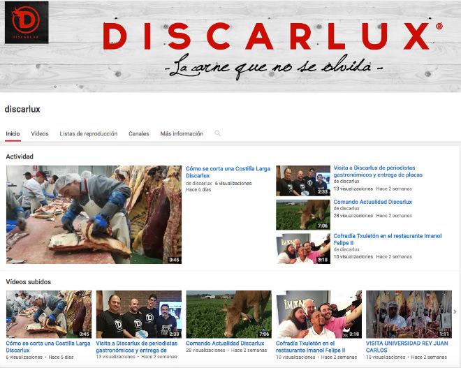 discarlux en youtube