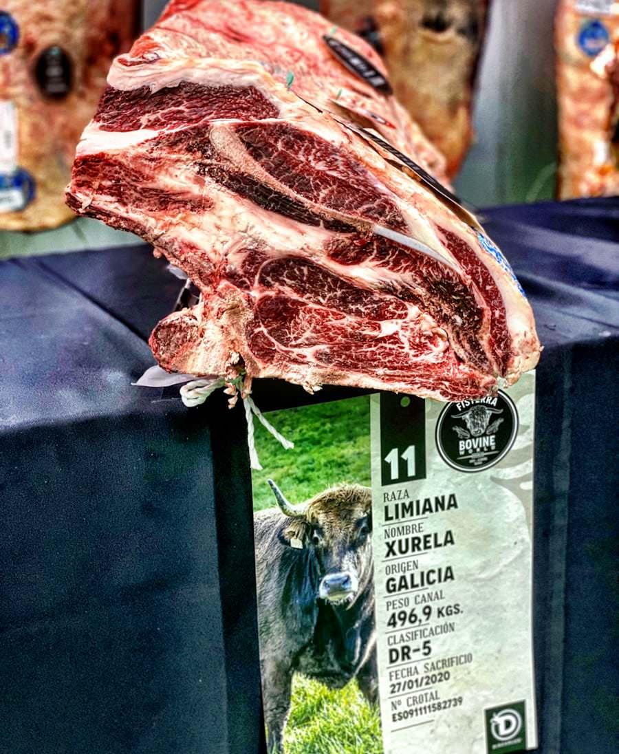 Jornadas con la carne de «Fisterra» en el restaurante Sua (Madrid)